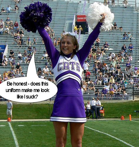 Cheerleaders sucking dick